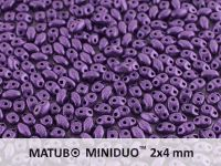 miniDUO 2x4mm Metallic Suede Lavender - 5 g