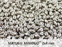 miniDUO 2x4mm Old Silver - 5 g