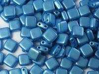 Squares 6mm Pastel Blue Turquoise - 20 sztuk