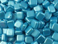 Squares 6mm Pastel Aqua - 20 sztuk