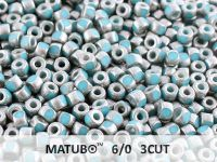 3CUT 6o Blue Turquoise - Old Silver - 5 g