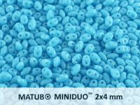 miniDUO 2x4mm Blue Turquoise - 5 g