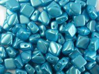 Silky Beads 6mm Pastel Aqua - 20 sztuk