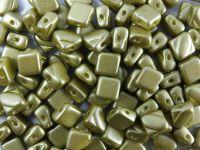 Silky Beads 6mm Pastel Lime - 20 sztuk