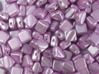 Silky Beads 6mm Pastel Lavender - 20 sztuk
