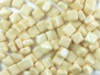 Silky Beads 6mm Luster - Metallic Champagne - 20 sztuk