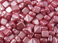 Silky Beads 6mm Pastel Pink - 20 sztuk