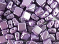 Silky Beads 6mm Pastel Lila - 20 sztuk