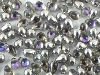 Puffy Teardrops Crystal Vitrail Light 6x4mm - 20 sztuk