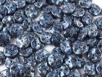 Ripple 12mm Metallic Marble Blue - 5 sztuk