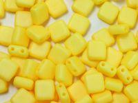 Squares 6mm Yellow Silk Mat - 20 sztuk