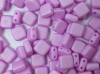 Squares 6mm Light Purple Silk Mat - 20 sztuk