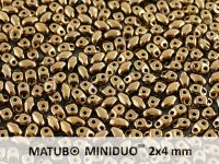miniDUO 2x4mm Gold Bronze - 5 g
