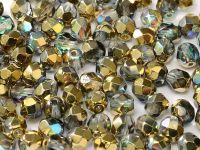 FP 4mm Crystal Golden Rainbow - 40 sztuk