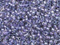 TOHO Round 8o-265 Inside-Color Rainbow Crystal - Metallic Purple Lined - 10 g