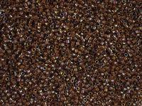 Miyuki Delica DB0287 Topaz Inside Dyed Cinnamon AB - 5 g