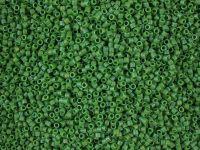 Miyuki Delica DB0877 Matte Opaque Green AB - 5 g