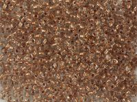 PRECIOSA Rocaille 6o-Copper-Lined Crystal - 50 g