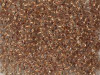 PRECIOSA Rocaille 6o-Copper-Lined Crystal - 50 g