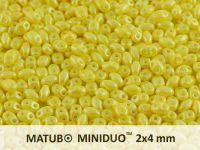 miniDUO 2x4mm Pearl Shine Amber - 50 g