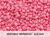 miniDUO 2x4mm Pearl Shine Light Pink - 50 g