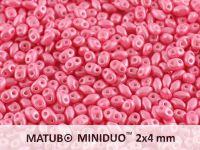 miniDUO 2x4mm Pearl Shine Light Pink - 50 g