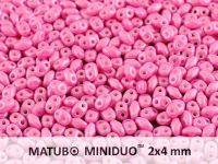 miniDUO 2x4mm Pearl Shine Light Fuchsia - 50 g