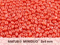 miniDUO 2x4mm Pearl Shine Light Coral - 50 g