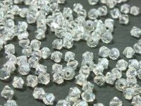 Bicone 3mm Luster Crystal - 100 sztuk