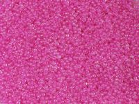PRECIOSA Rocaille 11o-Hot Pink-Lined Crystal - 50 g