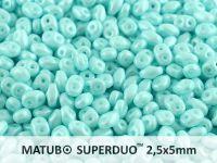 SuperDuo 2.5x5mm Pastel Light Azore - 10 g