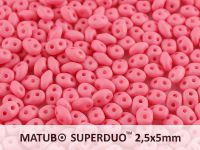 SuperDuo 2.5x5mm Rose Silk Mat - 10 g