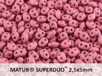 SuperDuo 2.5x5mm Wine Lees Silk Mat - 10 g