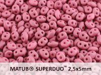 SuperDuo 2.5x5mm Wine Lees Silk Mat - 10 g