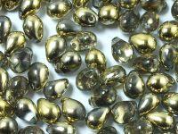 Teardrops Gold 1/2 7x5mm - 20 sztuk