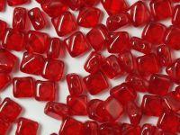 Silky Beads 6mm Siam Ruby - 20 sztuk
