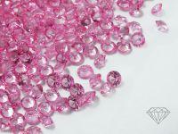 Diamenciki akrylowe różowe 3x2mm - 6 g