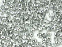 Round Beads Silver 1/2 4 mm - opakowanie