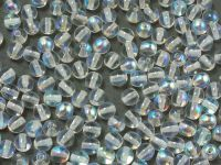 Round Beads Crystal AB 4 mm - 100 g