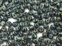 Round Beads Jet Travertin 4 mm - opakowanie