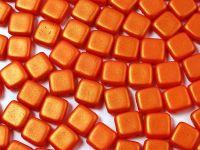 Tile 6mm Gold Shine Orange - 20 sztuk