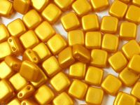 Tile 6mm Gold Shine Yellow Sun - 20 sztuk