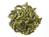 Crescent 3x10mm Saturated Metallic Yellow Green - 5 g