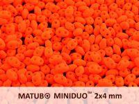 miniDUO 2x4mm Neon Orange - 5 g