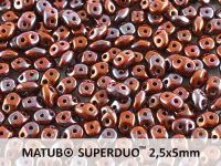 SuperDuo 2.5x5mm Opaque Umber - Nebula - 100 g