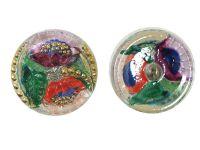 Guzik szklany nr211 - 27 mm