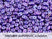 SuperDuo 2.5x5mm Opaque Blue - Nebula Mat - 10 g