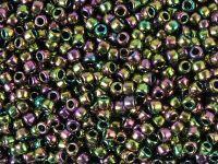 TOHO Round 8o-509 Higher-Metallic Purple-Green Iris - 10 g