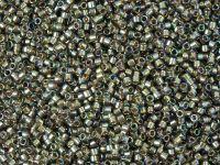 TOHO Treasure 12o-999 Gold-Lined Rainbow Black Diamond - 5 g