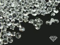 Diamenciki akrylowe kryształowe 3x2mm - 60 g